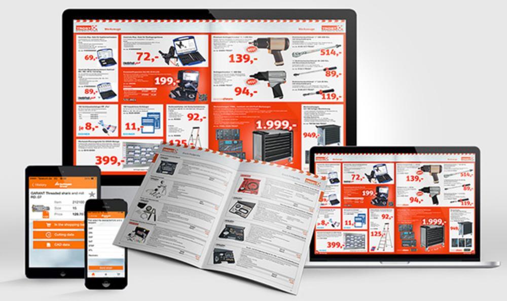Werk II:n priint:suitea käyttävät yritykset tuottavat laajan valikoiman erilaisia julkaisuja, täysin automatisoiduista tuotekorteista ja -luetteloista myyntimateriaaleihin, ryhmiteltyihin hinnastoihin, tuote-esitteisiin ja -lehtisiin sekä postimyyntiluetteloihin.
