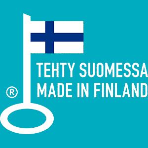 Tehty Suomessa logo