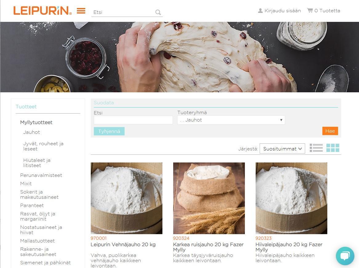 Leipurin verkkokauppa